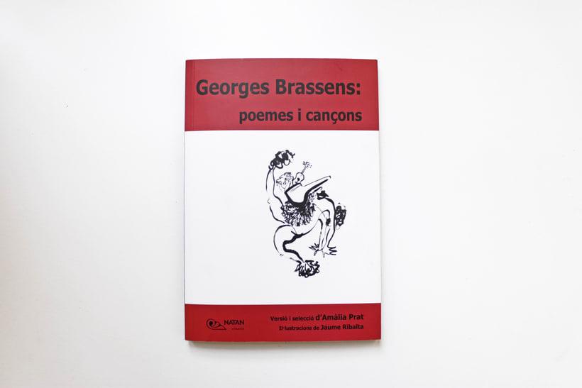 Georges Brassens: poemes i cançons. Versió i selecció per Amàlia Prat -1