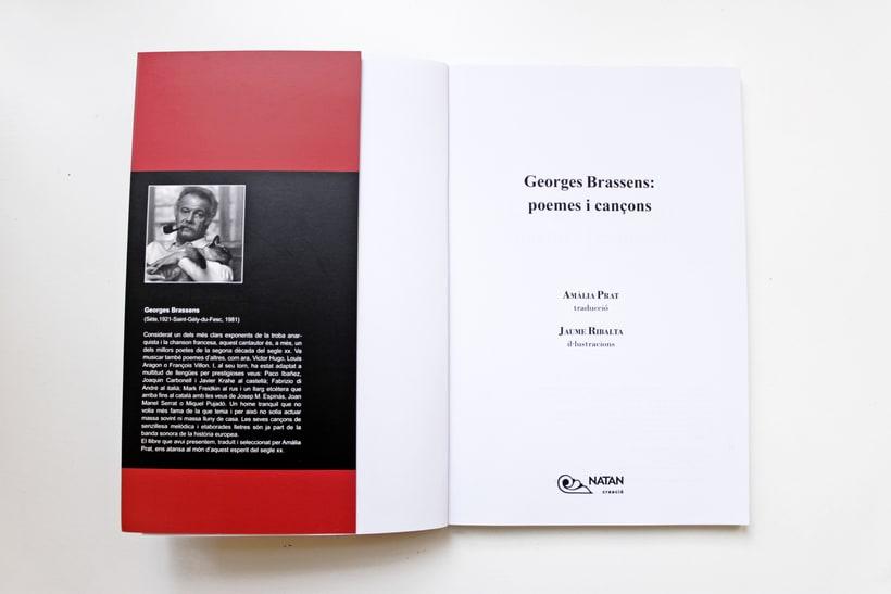 Georges Brassens: poemes i cançons. Versió i selecció per Amàlia Prat 1