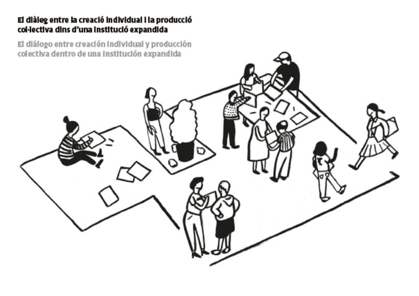Ilustración Cohabitar entre- Fabra i Coats, Barcelona  1