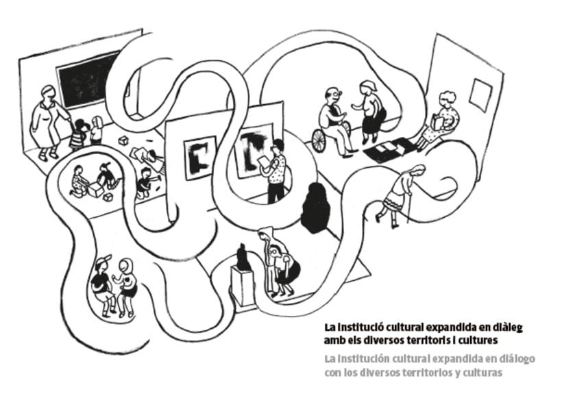 Ilustración Cohabitar entre- Fabra i Coats, Barcelona  4