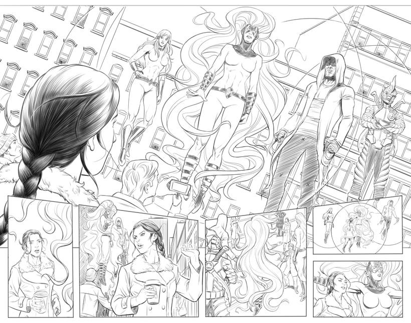 Mi Proyecto del curso: El cómic de superhéroes: narrativa y realización gráfica 1