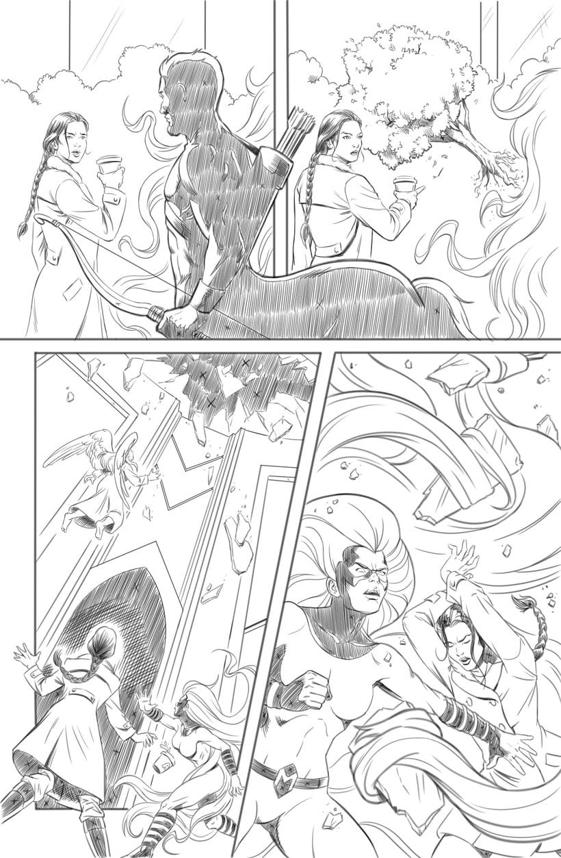 Mi Proyecto del curso: El cómic de superhéroes: narrativa y realización gráfica 3