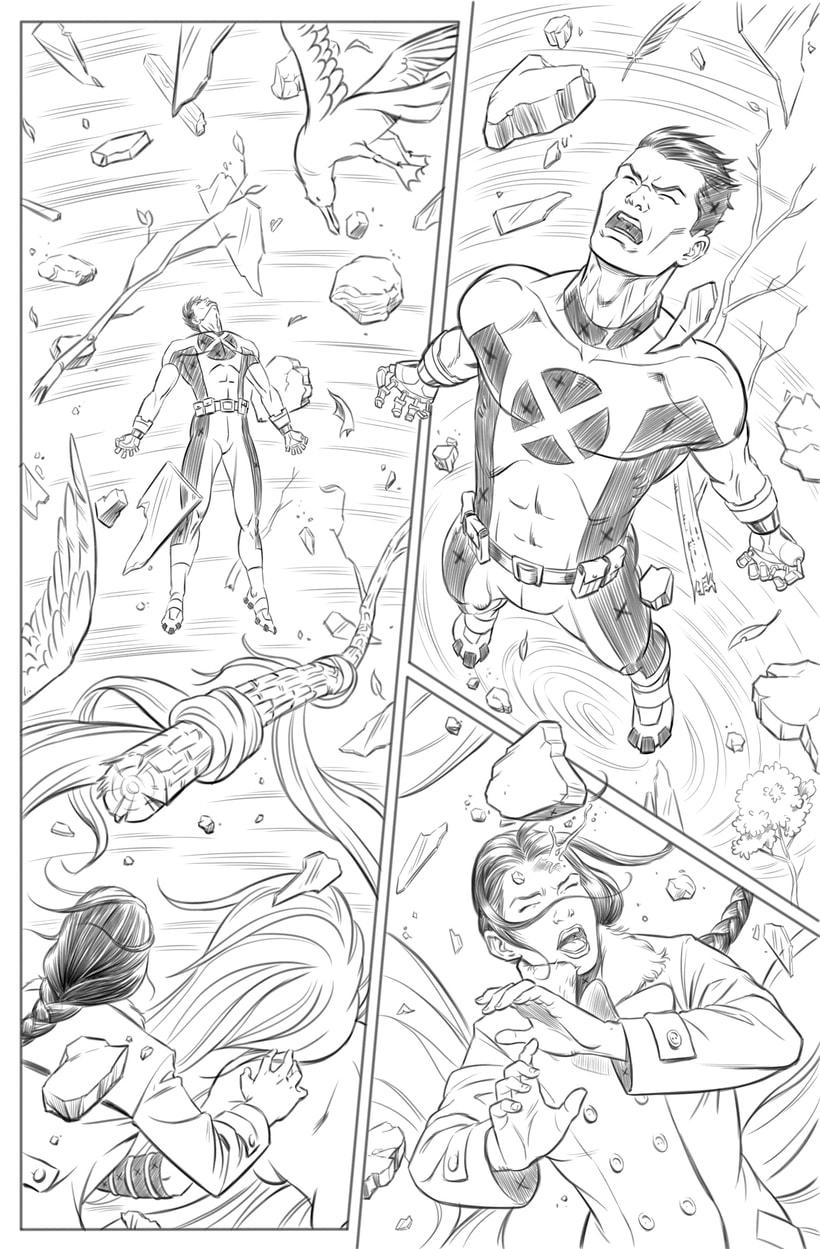 Mi Proyecto del curso: El cómic de superhéroes: narrativa y realización gráfica 4