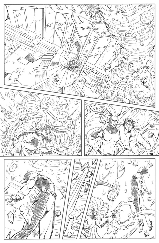 Mi Proyecto del curso: El cómic de superhéroes: narrativa y realización gráfica 5
