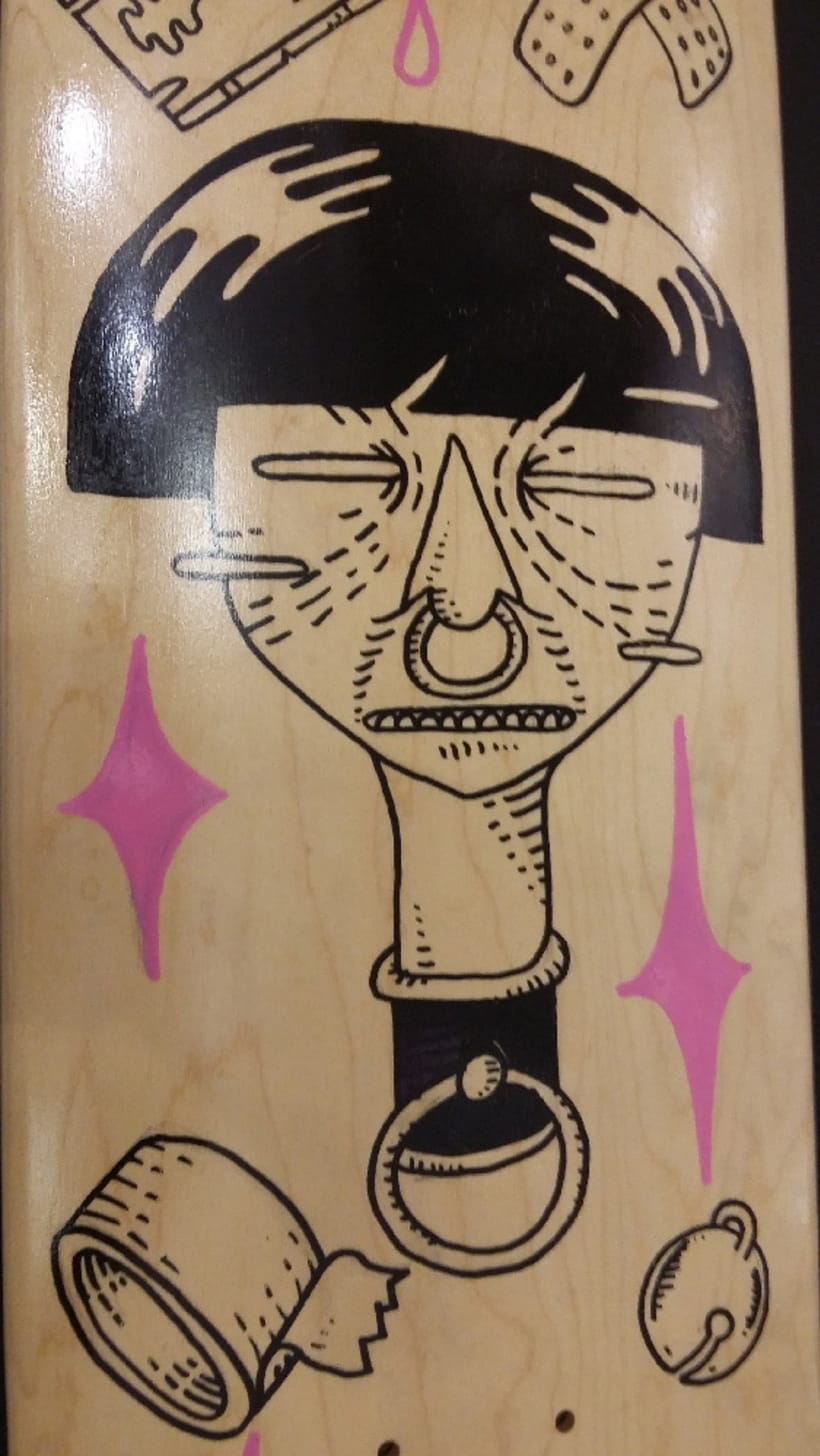 Tablas de skate para Pro Model Deck 3