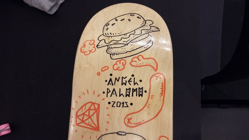 Tablas de skate para Pro Model Deck 11