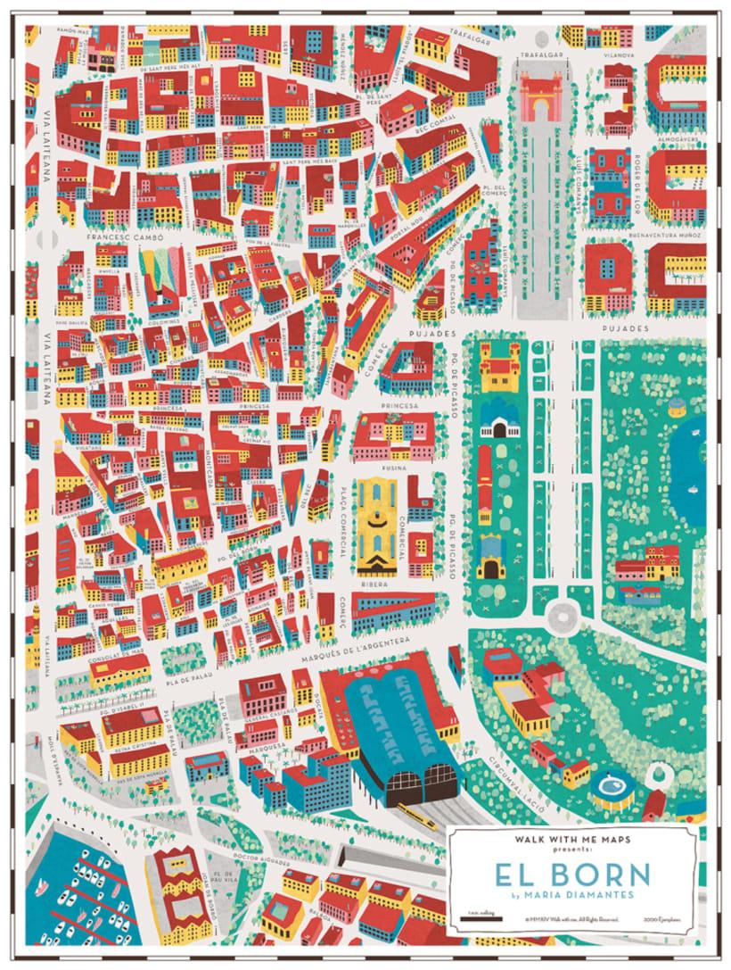 Los mapas ilustrados de Walk With Me 15
