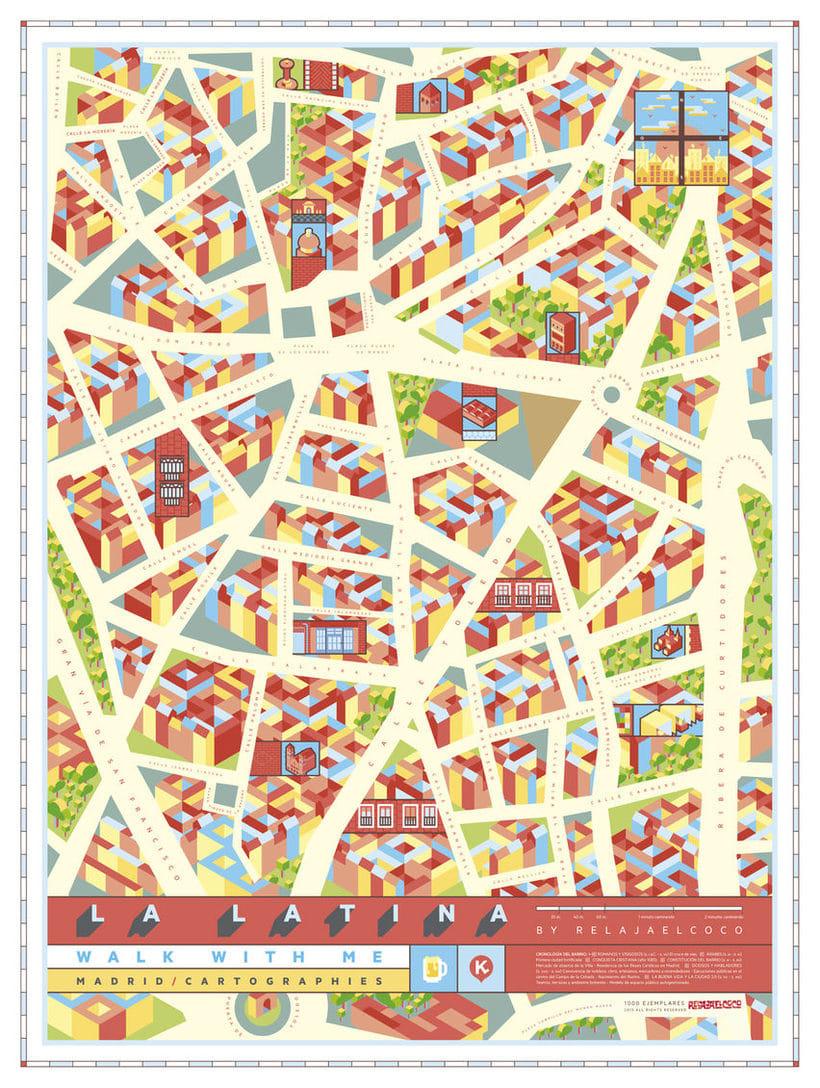 Los mapas ilustrados de Walk With Me 7