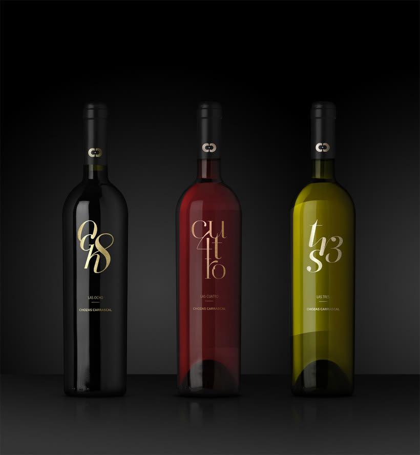 Chozas Carrascal. Wine Labels -1
