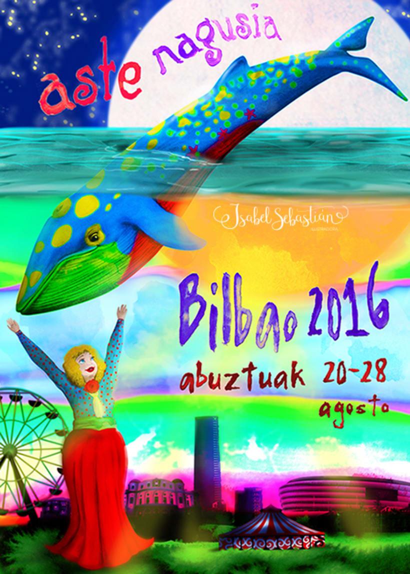 Cartel aste nagusia Bilbao 2016 -1