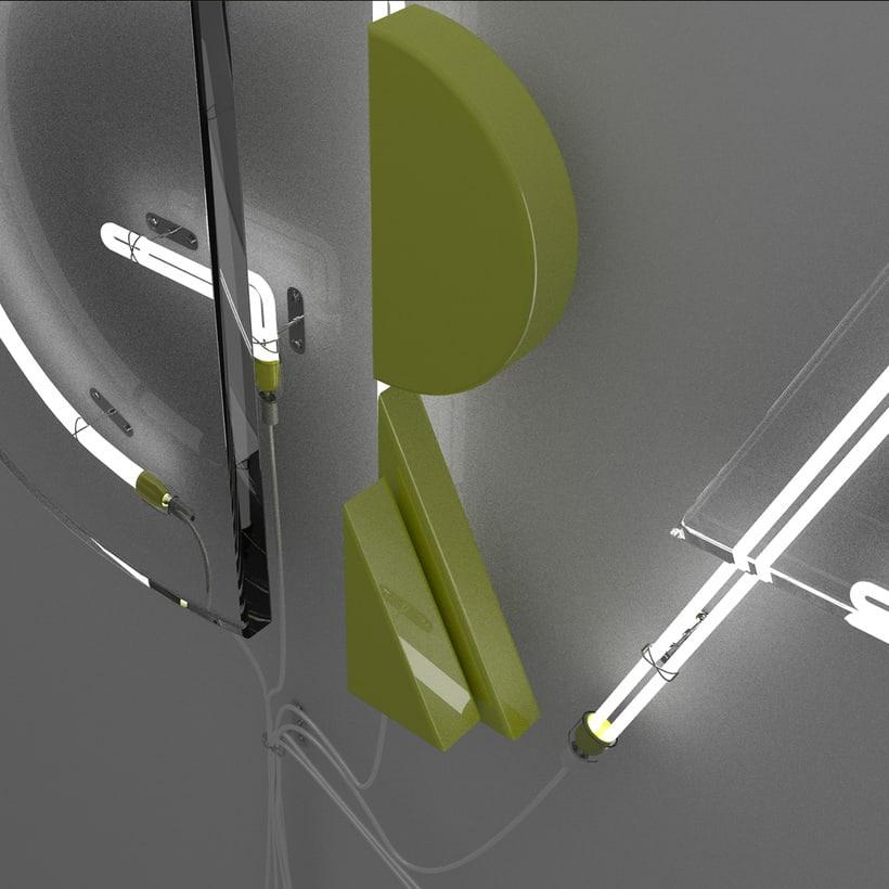 Mi Proyecto del curso: Lettering 3D: modelado y texturizado con Cinema 4D 2