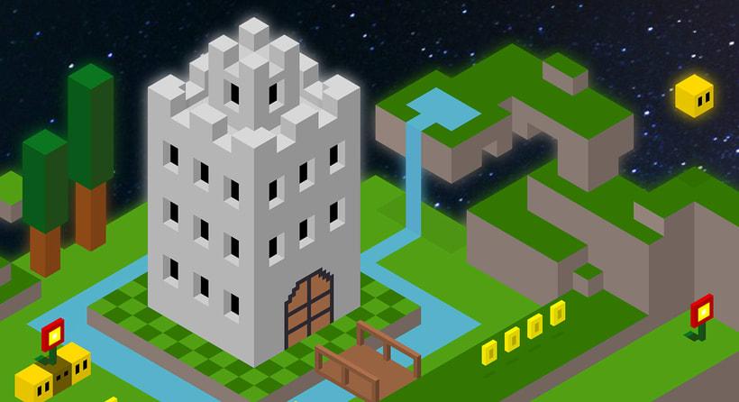 Super Mario Hexels World 2