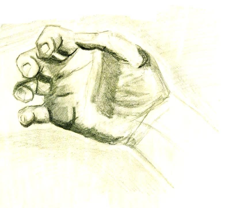 Tus manos, a grafito, es posible -1