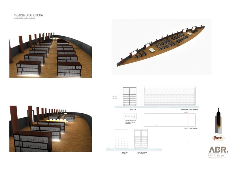 Render interior para proyecto Bodega Protos -1