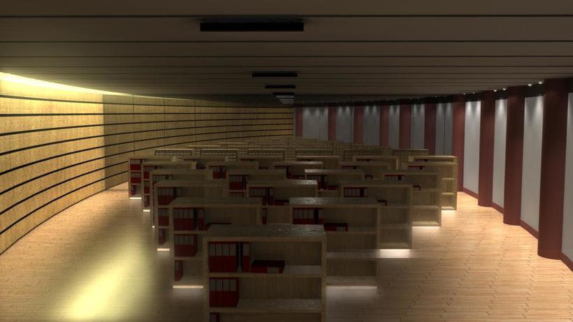 Render interior para proyecto Bodega Protos 1
