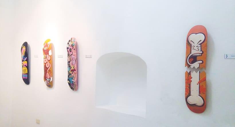 Live / Wallride Exhibition 17