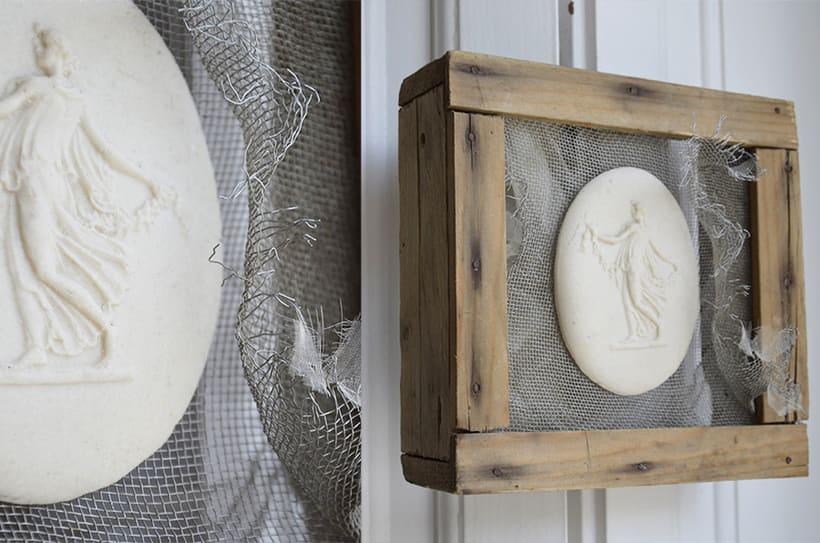 """""""Oniria """". Ensamblaje Escultura Collage Arte. Poesía visual. Material antigüo. Técnica Upcycling. 0"""