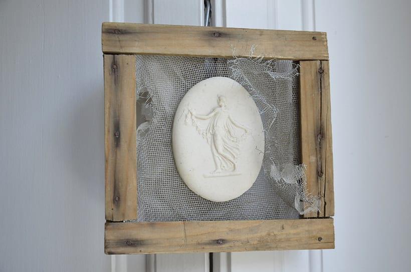 """""""Oniria """". Ensamblaje Escultura Collage Arte. Poesía visual. Material antigüo. Técnica Upcycling. 1"""