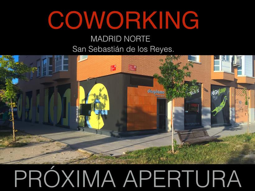 COWORKING MADRID NORTE, PRÓXIMA APERTURA, SIN ÁNIMO DE LUCRO, SOLO GASTOS COMUNES. -1