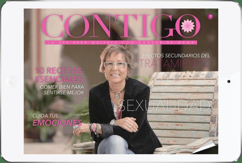 Contigo - La app para mujeres con cáncer de mama 0