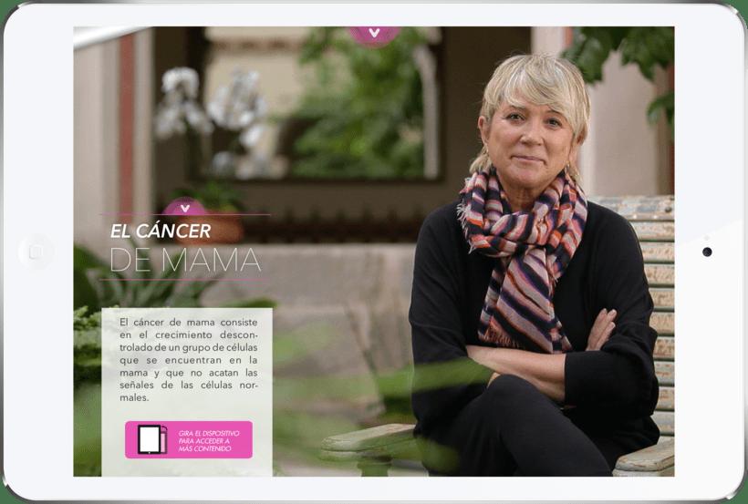 Contigo - La app para mujeres con cáncer de mama 3