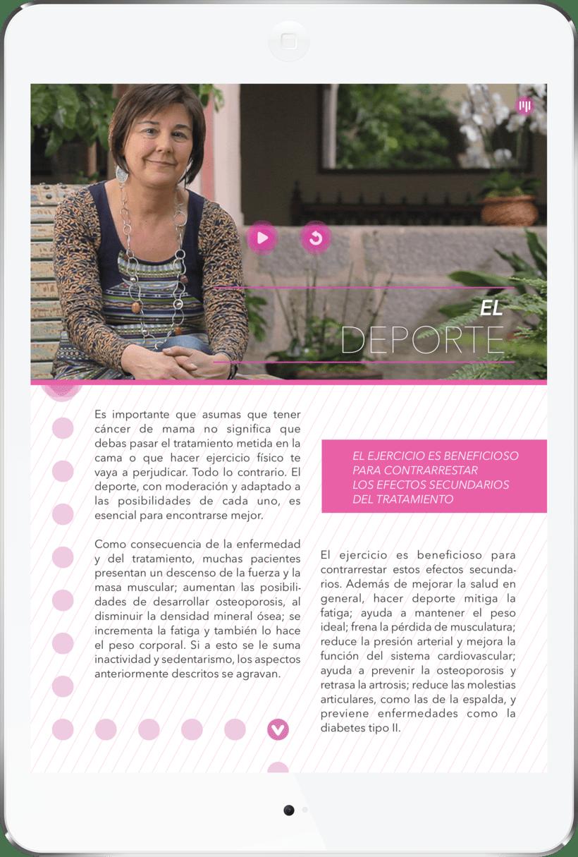 Contigo - La app para mujeres con cáncer de mama 4