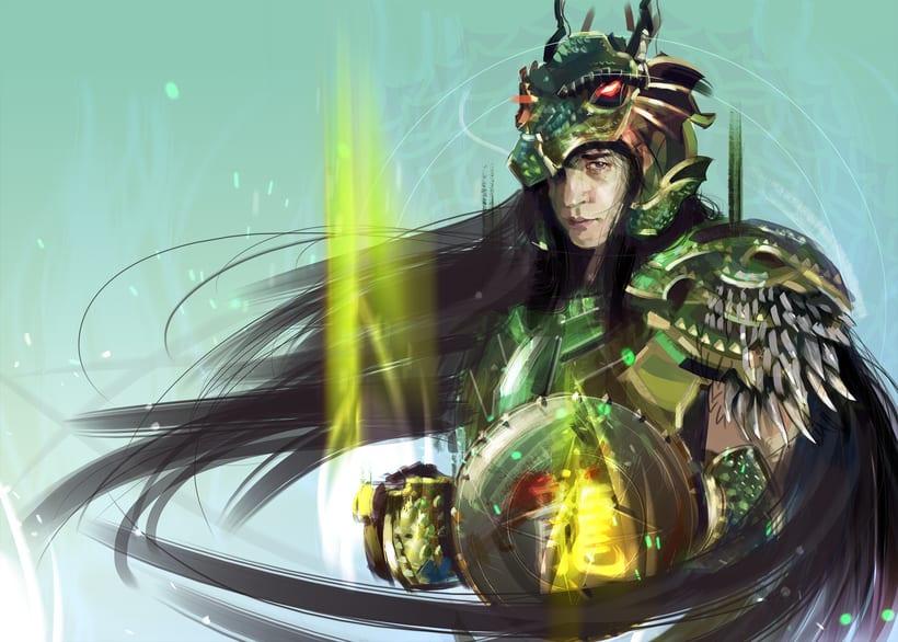 Caballero del Dragon / Shiryu -1