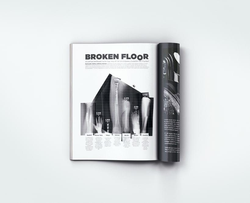 Broken Floor   Infografía. Ejercicio libre de creatividad 2
