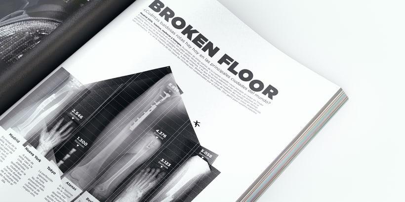 Broken Floor   Infografía. Ejercicio libre de creatividad 3