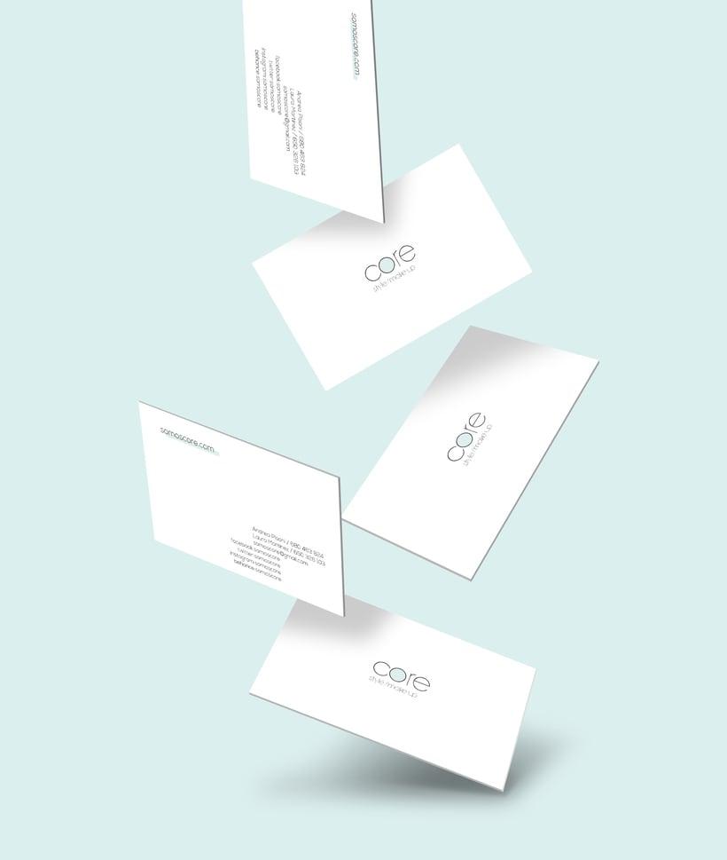 Core | Branding. Logo, diseño web 2
