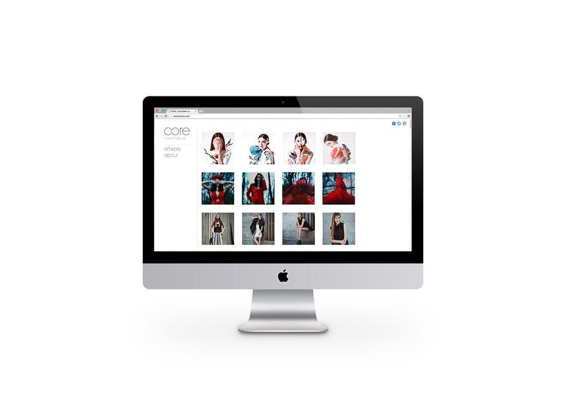 Core | Branding. Logo, diseño web 3