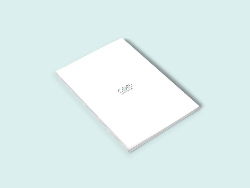 Core | Branding. Logo, diseño web 8