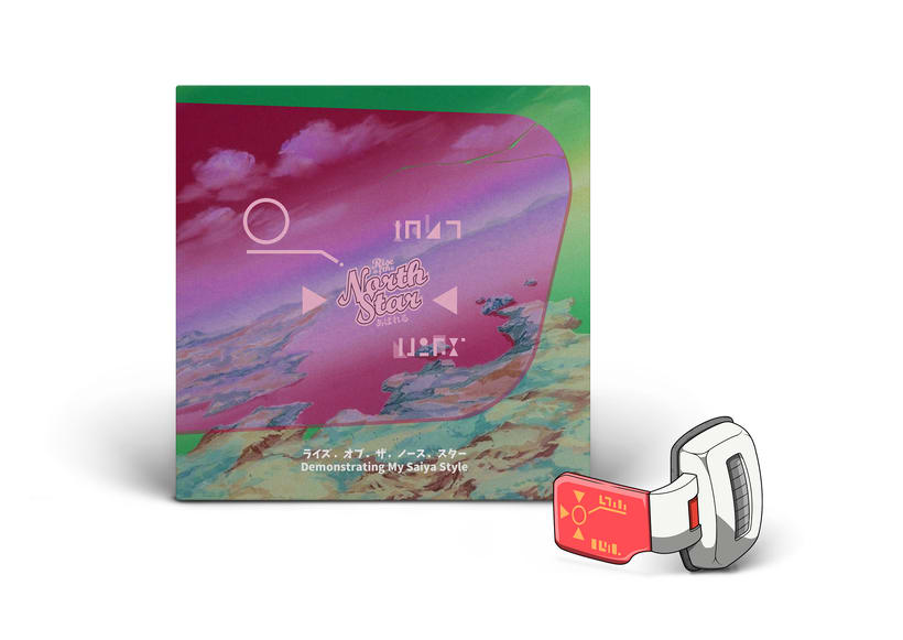 ROTNS. Demonstrating My Saiya Style | Diseño lenticular. Portada alternativa disco musical 2