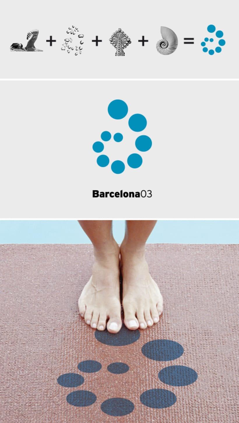 Imagen de los Campeonatos del Mundo de Natación Barcelona 2003 0