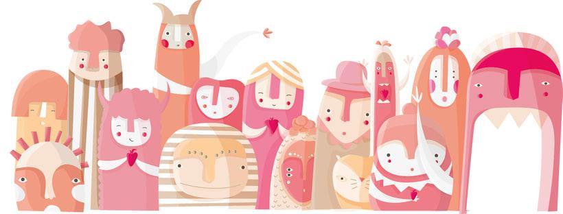 Packaging para leche de fresas 1
