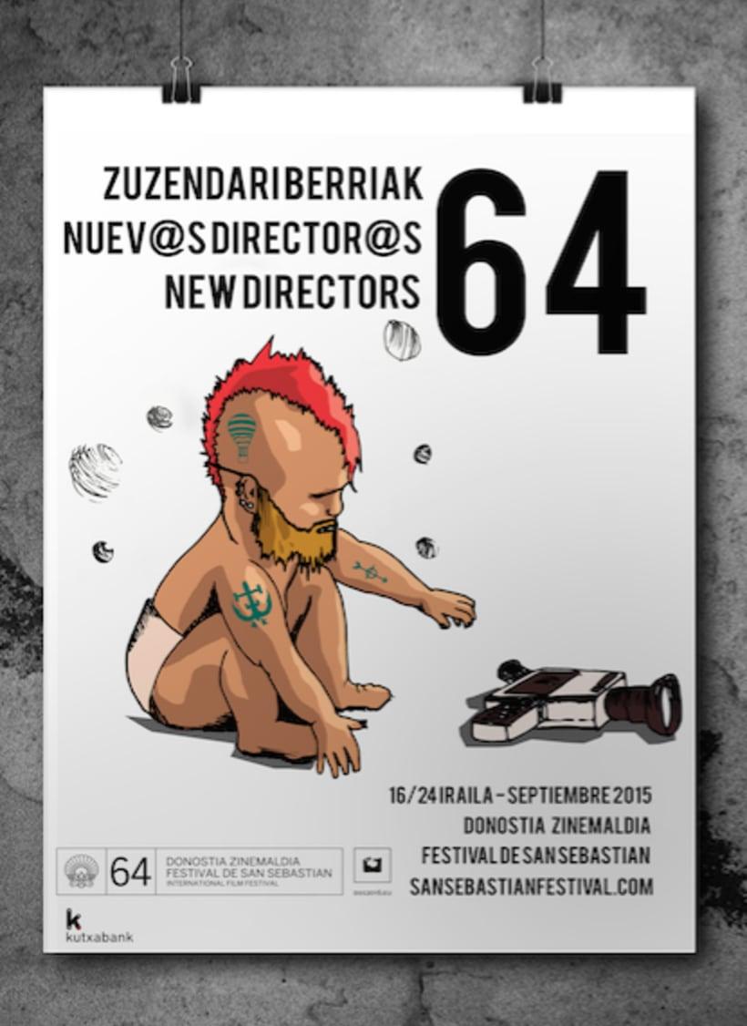 Carteles festival de cine de San Sebastian. 1
