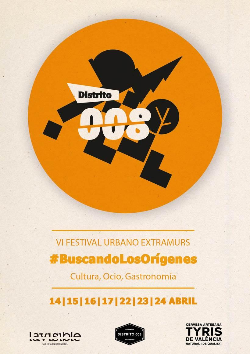 Imagen del festival Extramurs distrito 008, Valencia 2016. Ganador del concurso con DisoñadoresTeam. 0