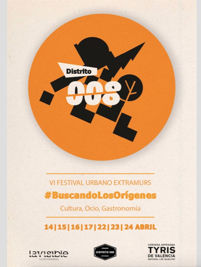 Imagen del festival Extramurs distrito 008, Valencia 2016. Ganador del concurso con DisoñadoresTeam. 4