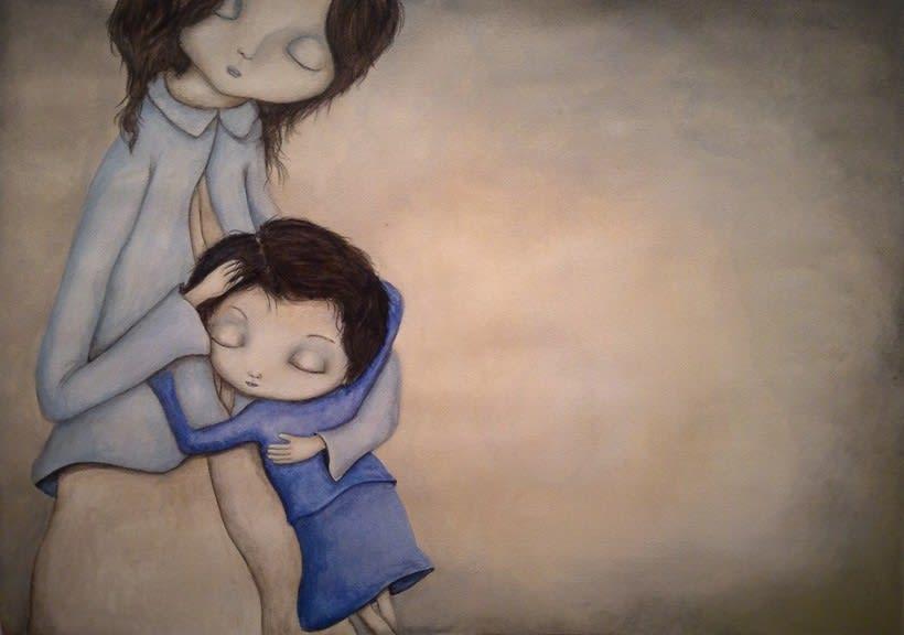 la niña triste 0