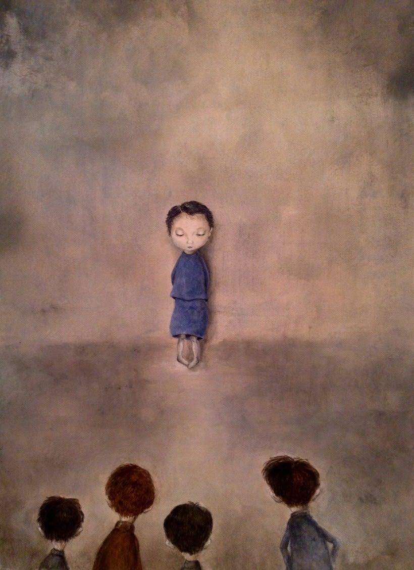 la niña triste 1