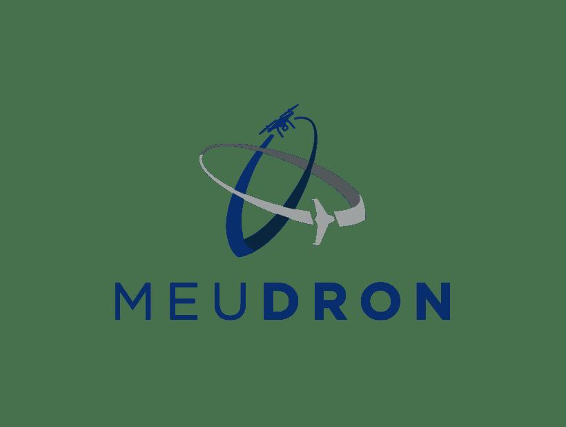 Logotipo, imagen de marca y diseño web, MeuDron 0