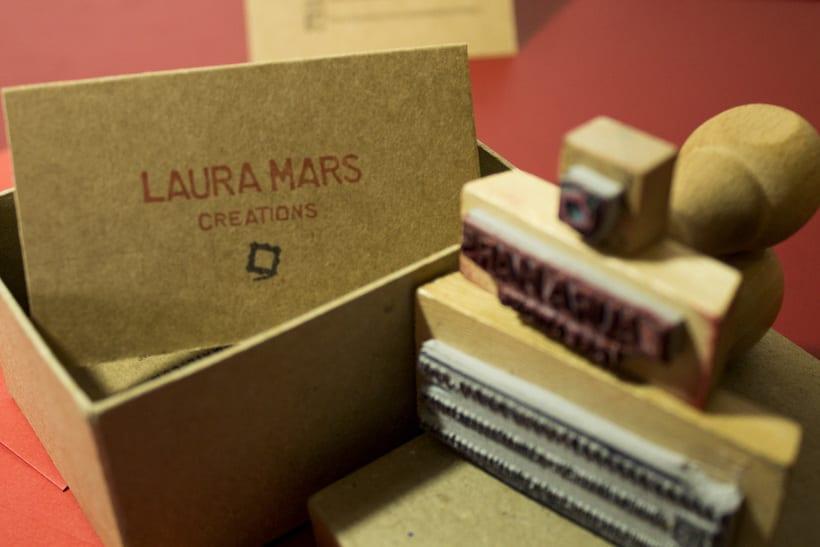 Laura Mars Creations. Identidad visual handmade 1