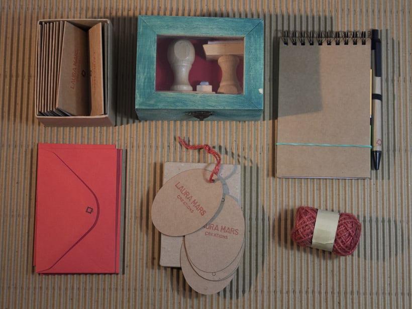 Laura Mars Creations. Identidad visual handmade 5