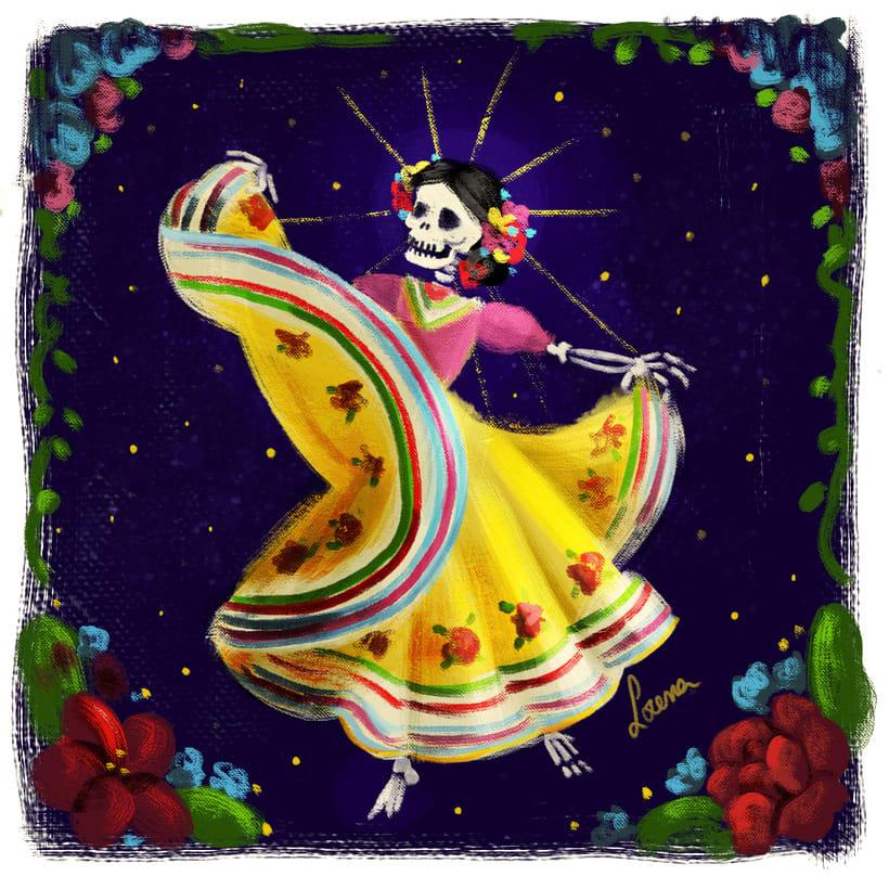 Santa Muerte Dancing 0