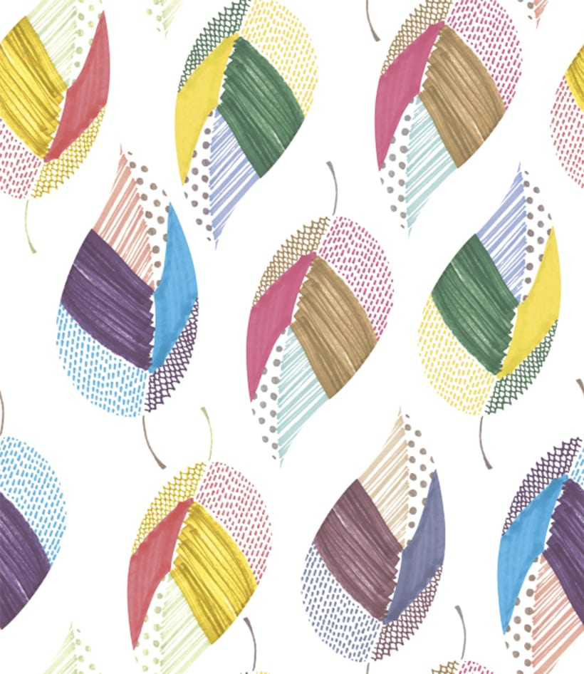patterns with watercolor 7