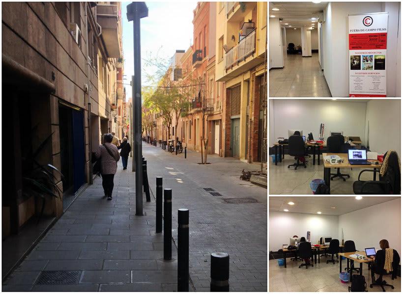 ¡Compartimos oficina en Sant Andreu, Barcelona! 1