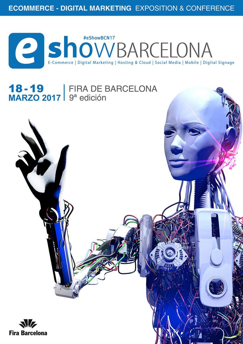 Cartel Eshow Barcelona 1