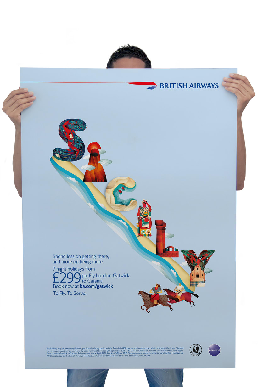 Sicily for British Airways 3