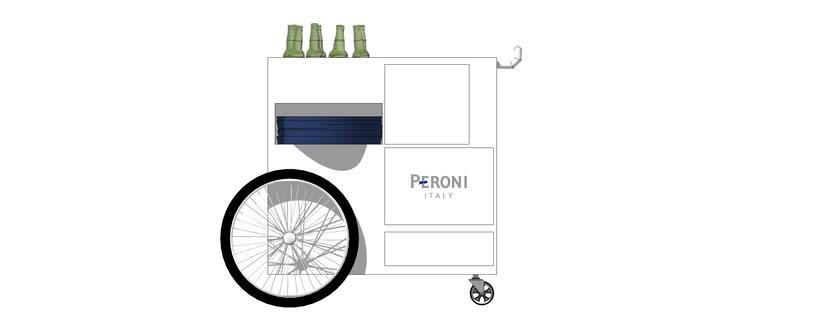 Carrito bebidas Peroni 0