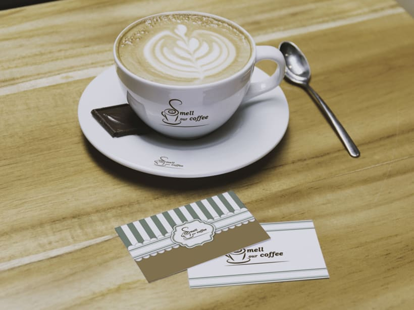Smell our coffee. Diseño Identidad corporativa -1